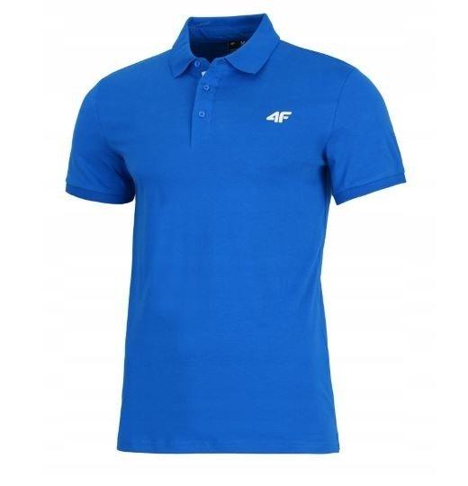 T-shirt męski 4F TSM007 niebieski S