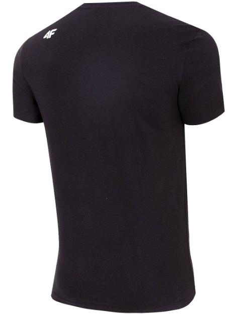 T-shirt męski 4F TSM020 koszulka czarna