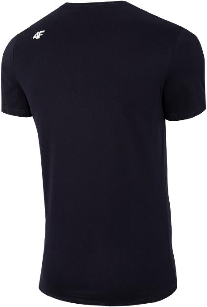 T-shirt męski 4F TSM028 koszulka granatowa