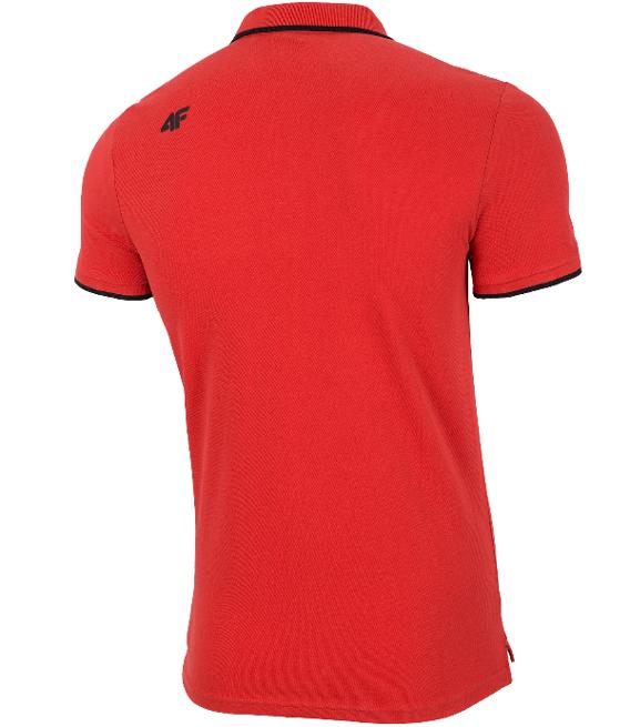 T-shirt męski 4F czerwony TSM024