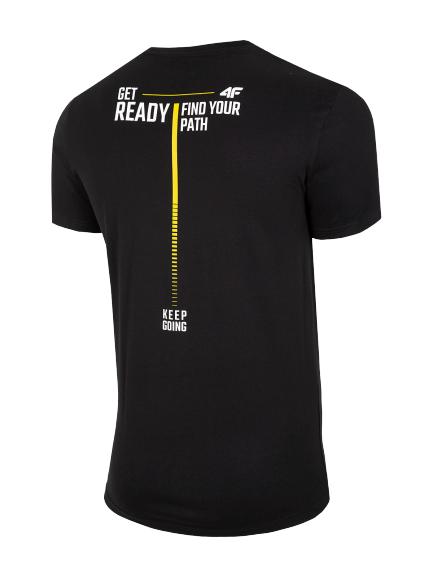 T-shirt męski 4F koszulka 4F TSM021 czarna