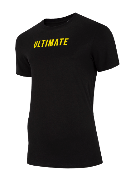 T-shirt męski 4F koszulka TSM025 czarna