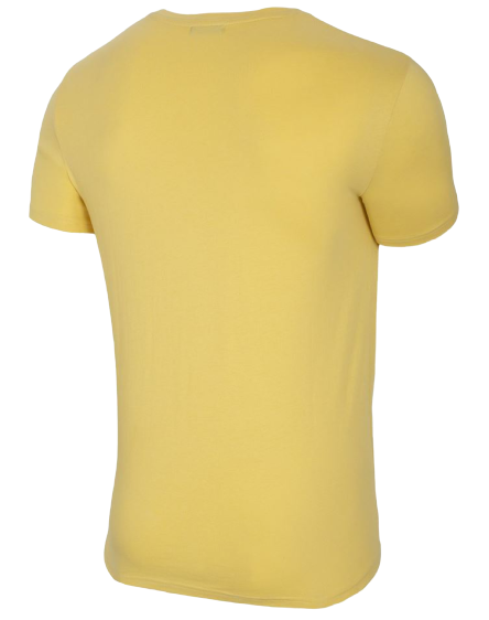 T-shirt męski OUTHORN TSM621 koszulka żółta