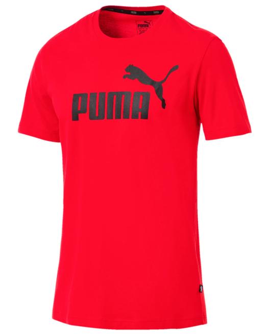 T-shirt męski PUMA ESS Logo 851740 05 czerwony