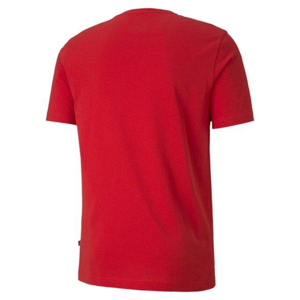 T-shirt męski PUMA Flock Graphic 581910 czerwona