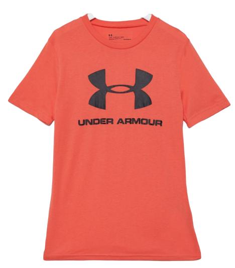 T-shirt sportowy koszulka UNDER ARMOUR czerwona