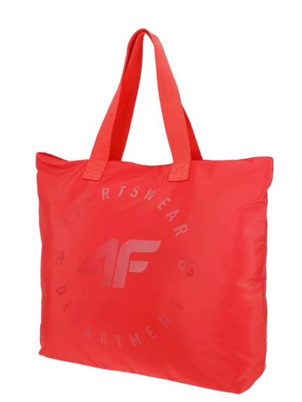 Torba plażowa 4F sportowa damska TPL001 czerwona