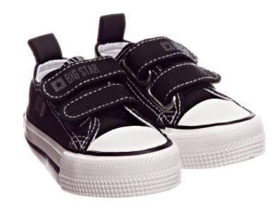 Trampki dziecięce BIG STAR HH374200 czarne